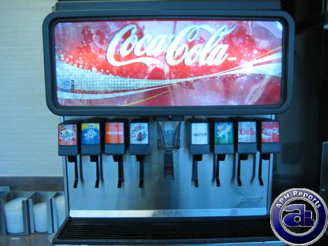 mcdonalds soda machine