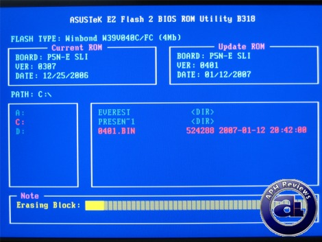 The Asus EZ Flash 2 utility. This utility can be launched within the BIOS  to update the BIOS, which provides the end user a lot of convenience  without ...