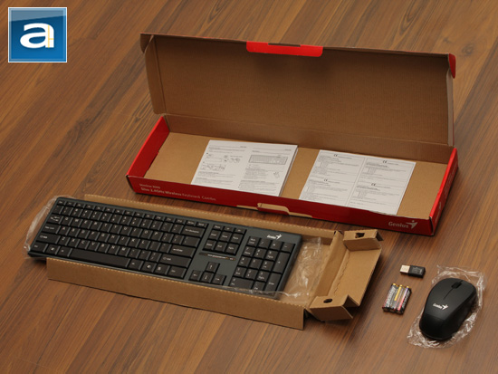 4739e30f5ef Opening the box is simple enough, as the top flap lifts off nice and easy.  Inside, you are greeted with the keyboard and mouse inside plastic bags to  make ...