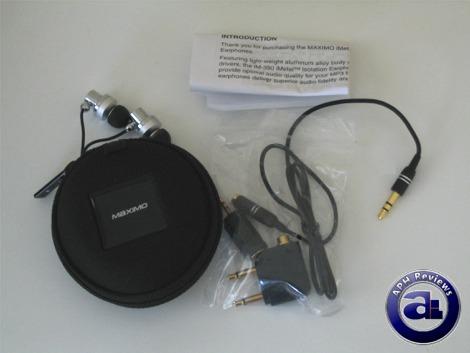 Maximo iMetal iM-390 Earphones