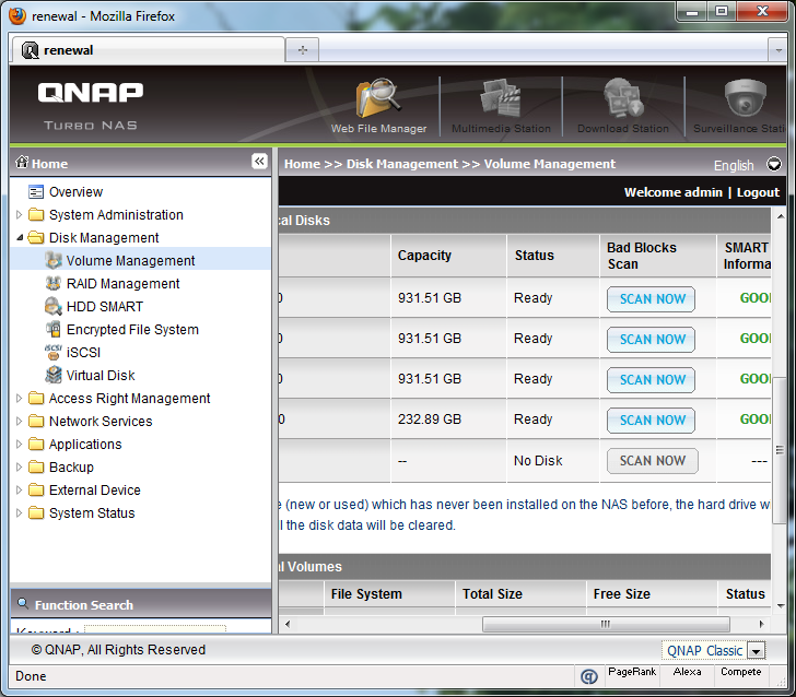 QNAP TS-559 Pro+ Review (Page 3 of 5) | APH Networks