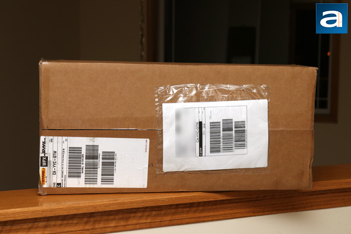 3412c44d12a The Tesoro Gram XS arrived via DHL and their Express Worldwide service. I  think you may have heard our laments about DHL in the past, and this time  is no ...