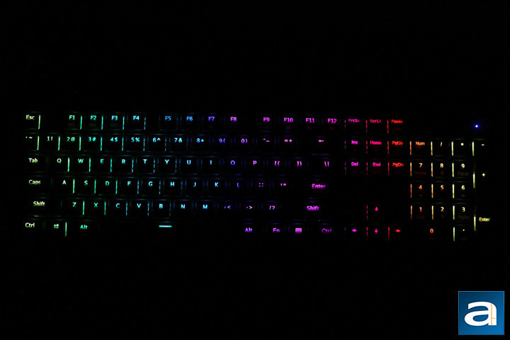 bf03d0e908f ... Tesoro Gram XS. As for the lighting, I really like the vibrancy of  these RGB lights. Upon plugging the keyboard in, you can immediately see  the rainbow ...