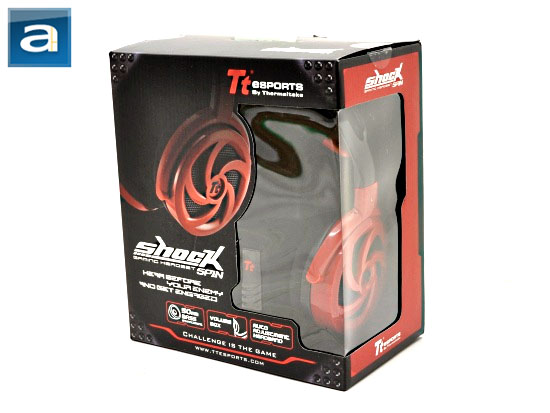 Thermaltake Tt eSPORTS Shock Spin Gaming Headset review @ APH Networks