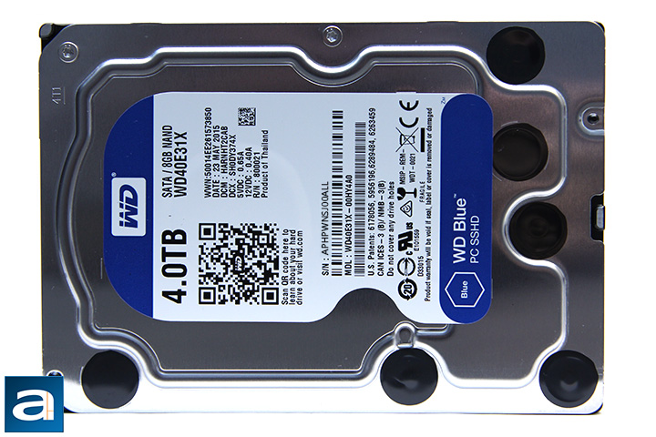 Western Digital Blue SSHD WD40E31X 4TB Review (Page 2 of 10