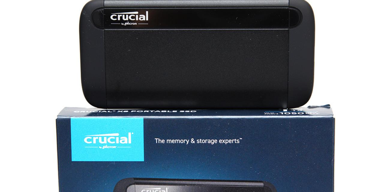 Crucial X8 1TB Review