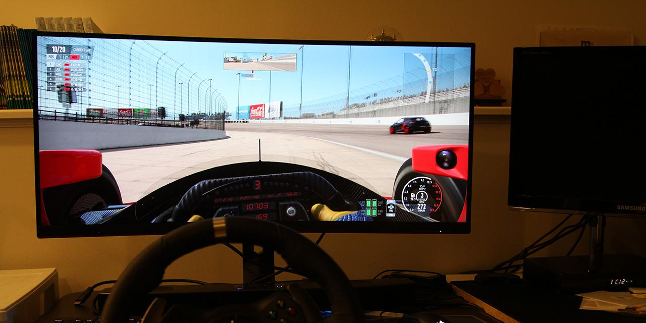 "Gaming with a 34"" Curved UltraWide Monitor: AOC 346B1C Report"