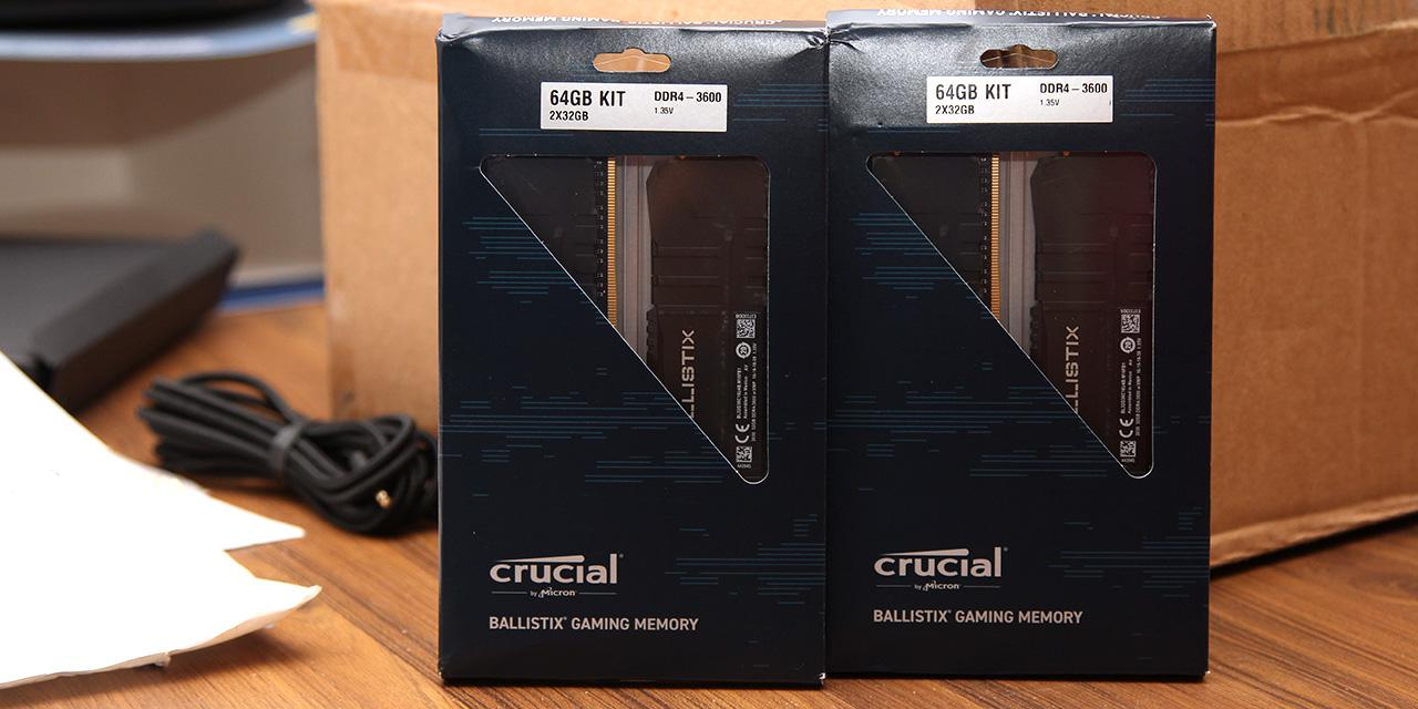 Crucial Ballistix DDR4-3600 2x32GB Review