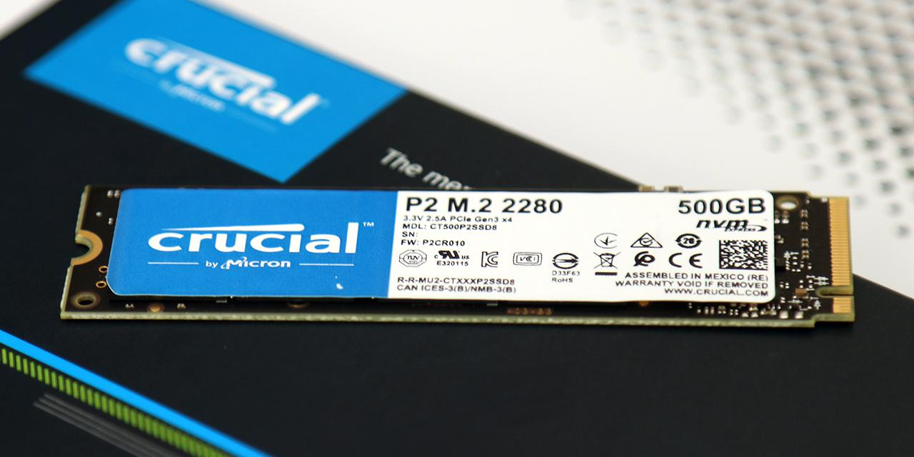 Crucial P2 500GB Review