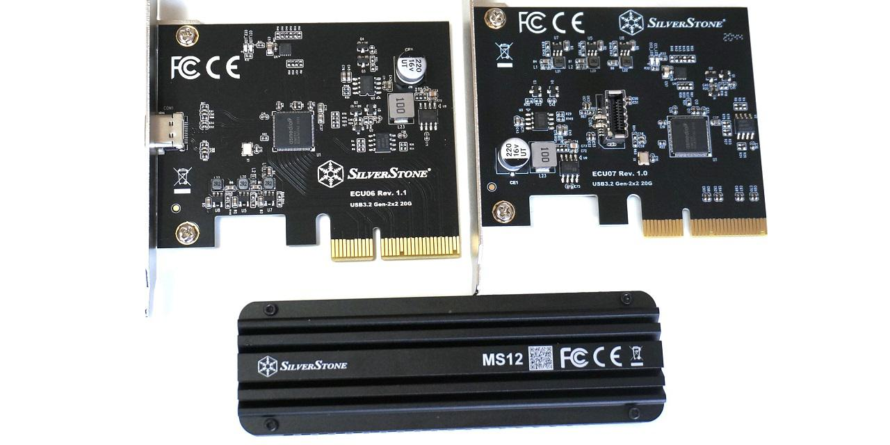 SilverStone ECU06, ECU07, MS12 Review