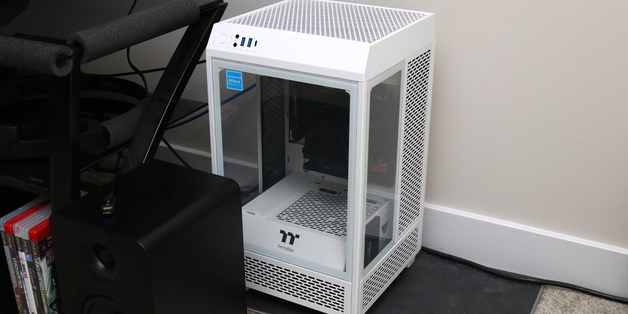 Thermaltake The Tower 100 Snow Review