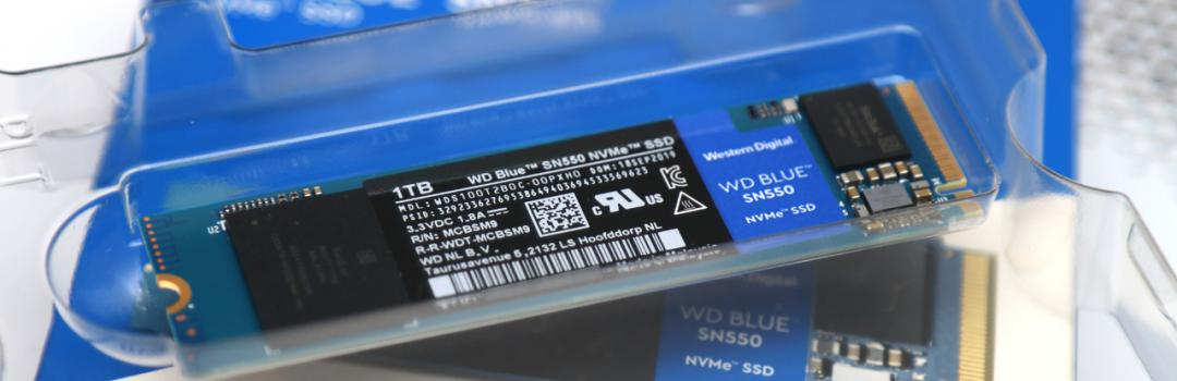 Western Digital Blue SN550 NVMe SSD 1TB Review