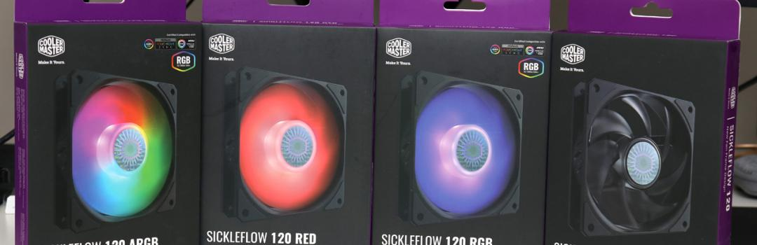 Cooler Master SickleFlow 120 Series Review